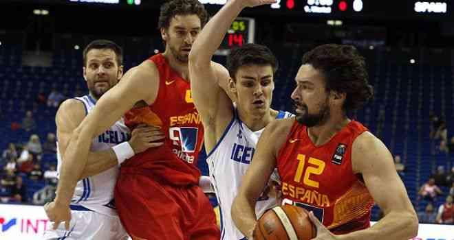 España cumple ante la débil Islandia (99-73) y se cita contra Alemania en un duelo decisivo para ambos